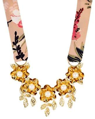 Kate Spade Botanical Statement Necklace, 16""