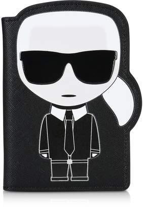 Karl Lagerfeld K/Ikonik Passport Holder