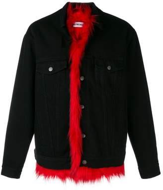 0a7218b4369a84 Mens Fur Lined Denim Jacket - ShopStyle UK