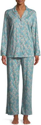 Natori Chakra Classic Print Pajama Set