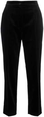 Dolce & Gabbana slim leg velvet suit trousers