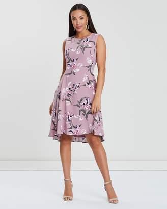 Forcast Annalise A-Line Dress
