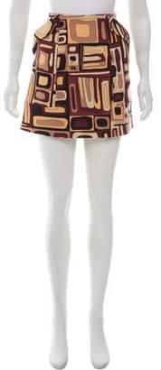 Emilio Pucci Patterned Mini Skirt