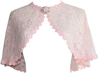 WDING Lace Shrugs for Evening Dresses Vintage Women Capes Wraps Jackets Burgundy