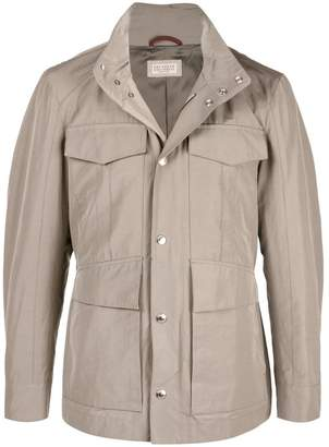 Brunello Cucinelli pocket trench coat