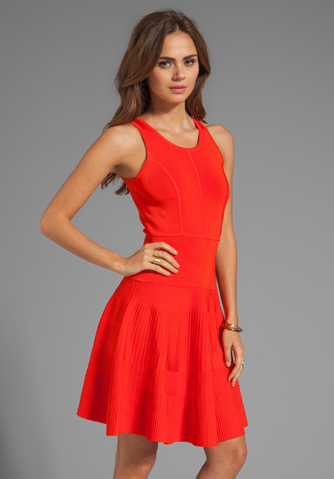 Milly May Knits Delilah Closed Back Flare Dress