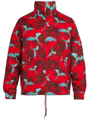 Needles - Bird Print Wool Jacket - Mens - Red