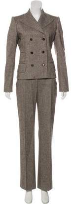 Dolce & Gabbana Structured Three-Piece Pantsuit