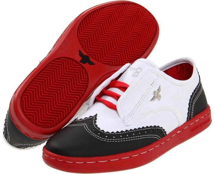 Creative Recreation Defeo (Youth) (Black/White) - Footwear