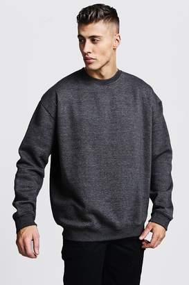 boohoo Fleece Oversized Sweatshirt