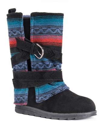 Muk Luks Nikki Woven Shaft Boot
