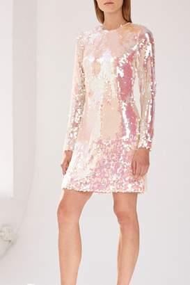 Monique Lhuillier ML Sequin Mini Dress