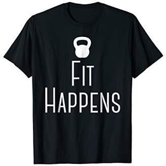 Fit Happens Kettlebell T-Shirt
