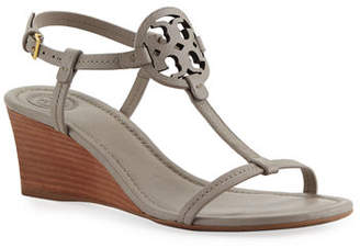 Tory Burch Miller Medallion Wedge Sandals