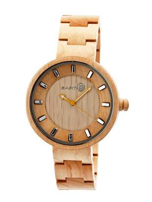 Earth Wood Root Wood Bracelet Watch Khaki 41Mm