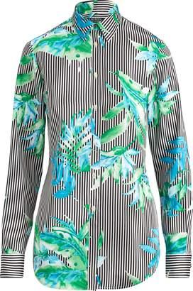 Ralph Lauren Print Button-Down Shirt