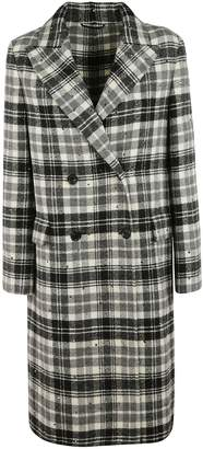 Ermanno Scervino Checked Midi Coat