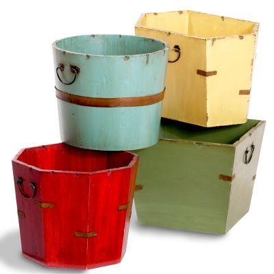 Decorative Garden Buckets