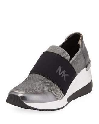 9a54e2fc9709 MICHAEL Michael Kors Felix Logo Slip-On Trainer Sneakers