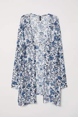 H&M Patterned Cardigan - White