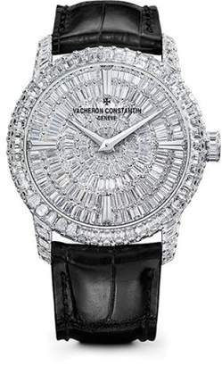 Vacheron Constantin Traditionnelle 82760/000G-9852 18K White Gold with Diamond Dial 40mm Mens Watch