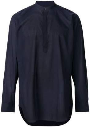 E. Tautz mandarin collar shirt