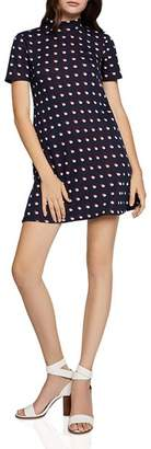 BCBGeneration Double Dot A-Line Dress