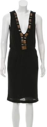 Adam Sleeveless Knee-Length Dress