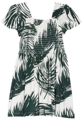 Peek Phylis Palm Print Dress