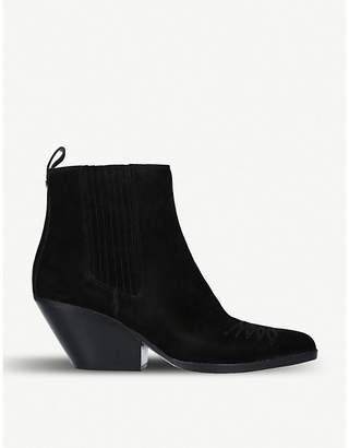 MICHAEL Michael Kors Sinclair suede Western boots