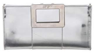 Roger Vivier Metallic Clutch Bag