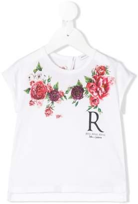 Dolce & Gabbana roses print T-shirt