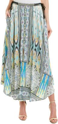 Hale Bob High Slit Maxi Skirt