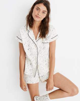 aab5f8dc722d Madewell Flannel Bedtime Pajama Set in Starscape