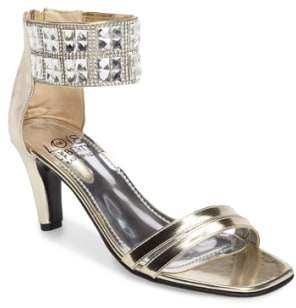Love and Liberty Scarlett Crystal Embellished Evening Sandal