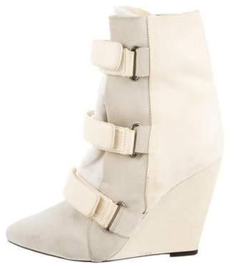 Isabel Marant Scarlet Wedge Ankle Boots