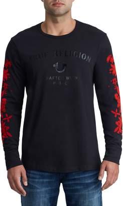 True Religion Brand Jeans Bloom Print T-Shirt