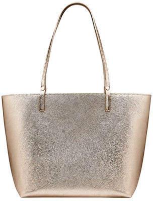 GiGi New York Tori Metallic Leather Tote Bag