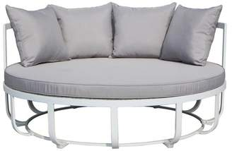 Pangea Home Naples Daybed With White Frame