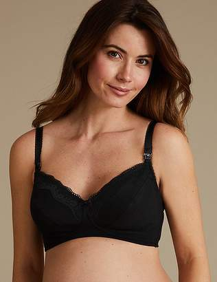 Marks and Spencer 2 Pack Cotton Rich Maternity Bras B-G