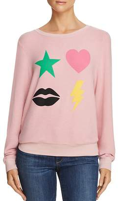 Wildfox Couture Powericon Graphic Sweatshirt - 100% Exclusive