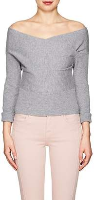 Mason by Michelle Mason WOMEN'S WOOL-CASHMERE WRAP-FRONT SWEATER