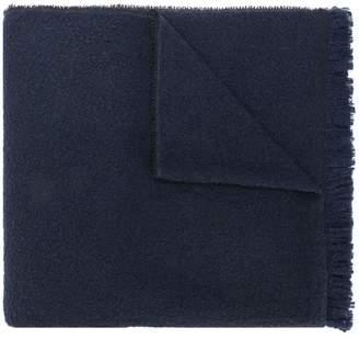 Zanone frayed edge scarf