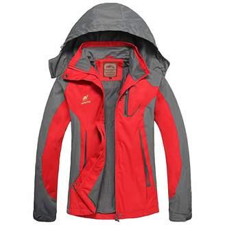 Roland Mouret Diamond Candy Hooded Waterproof Jacket raincoat Softshell Women Sportswear HPXL