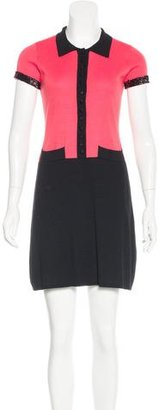 Twin.Set Embellished Colorblock Dress $70 thestylecure.com