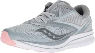 Saucony Women's Kinvara 9 Running Shoes, Grey/White