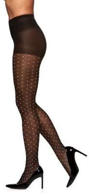 Berkshire Two-Tone Sheer Dots Pantyhose
