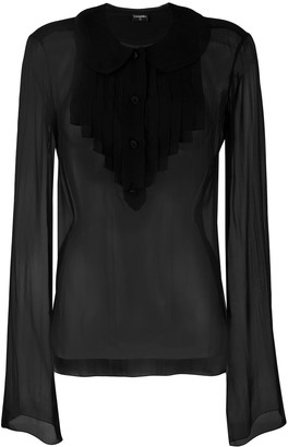 Chanel Pre-Owned sheer shirt