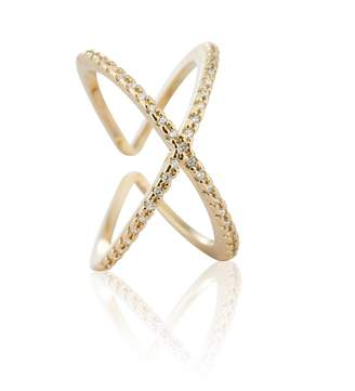 Astrid & Miyu - Across the World Cocktail Ring in Gold