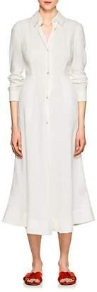 Barneys New York Women's Linen A-Line Shirtdress